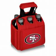 San Francisco 49ers Red Six Pack Cooler Tote