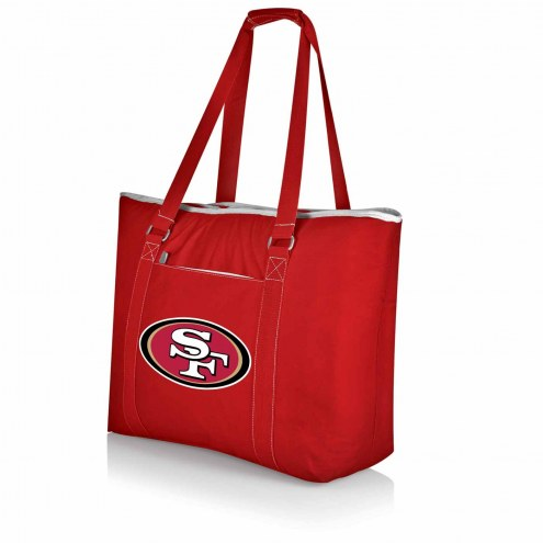 San Francisco 49ers Red Tahoe Beach Bag