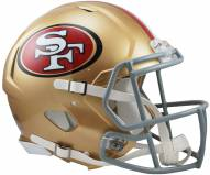 San Francisco 49ers Riddell Speed Full Size Authentic Football Helmet