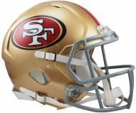 San Francisco 49ers Riddell Speed Full Size Authentic Football Helmet