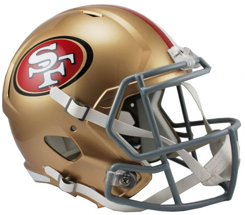 San Francisco 49ers Riddell Speed Collectible Football Helmet
