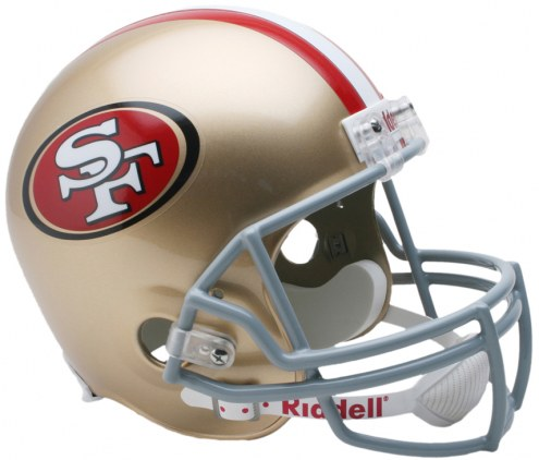 San Francisco 49ers Riddell VSR4 Collectible Full Size Football Helmet