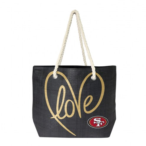 San Francisco 49ers Rope Tote