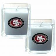 San Francisco 49ers Scented Candle Set