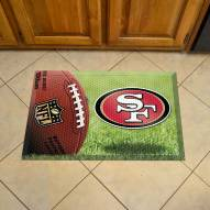 San Francisco 49ers Scraper Door Mat
