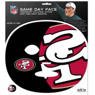 San Francisco 49ers Set of 4 Game Day Faces