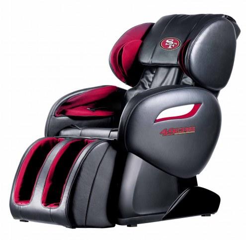 San Francisco 49ers Shiatsu Zero Gravity Massage Chair