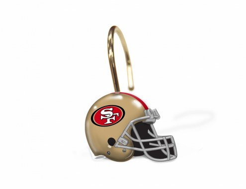 San Francisco 49ers Shower Curtain Rings