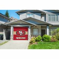 San Francisco 49ers Single Garage Door Cover