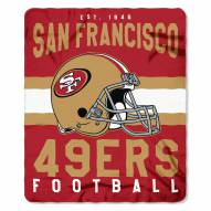 San Francisco 49ers Singular Fleece Blanket