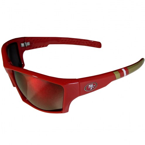 San Francisco 49ers Edge Wrap Sunglasses