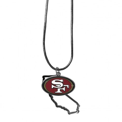San Francisco 49ers State Charm Necklace
