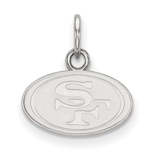 San Francisco 49ers Sterling Silver Extra Small Pendant