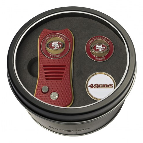 San Francisco 49ers Switchfix Golf Divot Tool & Ball Markers