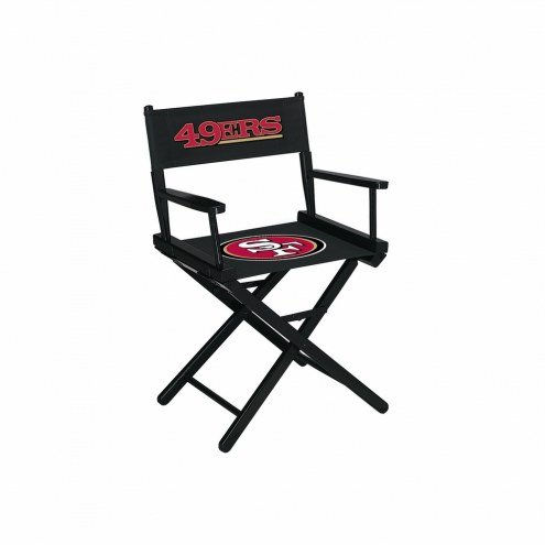 San Francisco 49ers Table Height Director's Chair