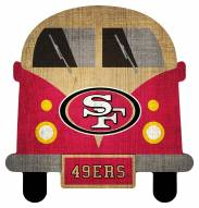 San Francisco 49ers Team Bus Sign