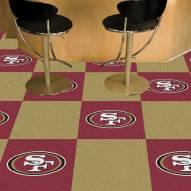 San Francisco 49ers Team Carpet Tiles