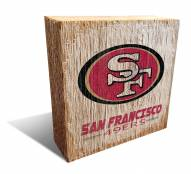 San Francisco 49ers Team Logo Block