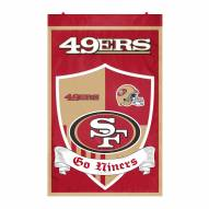 San Francisco 49ers Team Shield Banner