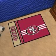 San Francisco 49ers Uniform Inspired Starter Rug