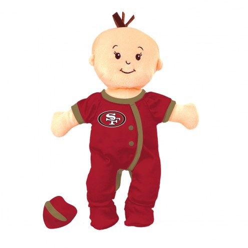 San Francisco 49ers Wee Baby Team Doll