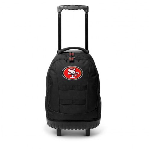 NFL San Francisco 49ers Wheeled Backpack Tool Bag