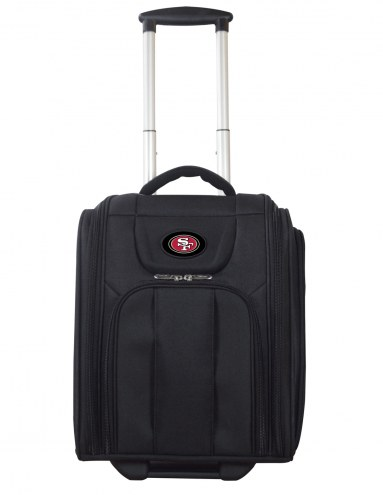 San Francisco 49ers Wheeled Business Tote Laptop Bag