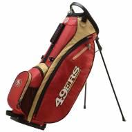 San Francisco 49ers Wilson NFL Carry Golf Bag