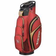 San Francisco 49ers Wilson NFL Cart Golf Bag