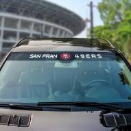 San Francisco 49ers Windshield Decal