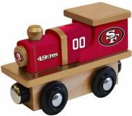 San Francisco 49ers Wood Toy Train
