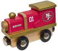 San Francisco 49ers Wooden Toy Train
