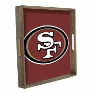 San Francisco 49ers Wooden Tray