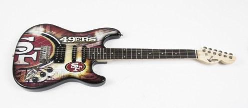 San Francisco 49ers Woodrow Northender Electric Guitar