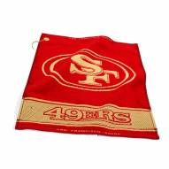 San Francisco 49ers Woven Golf Towel