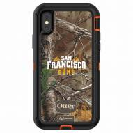 San Francisco Dons OtterBox iPhone X Defender Realtree Camo Case