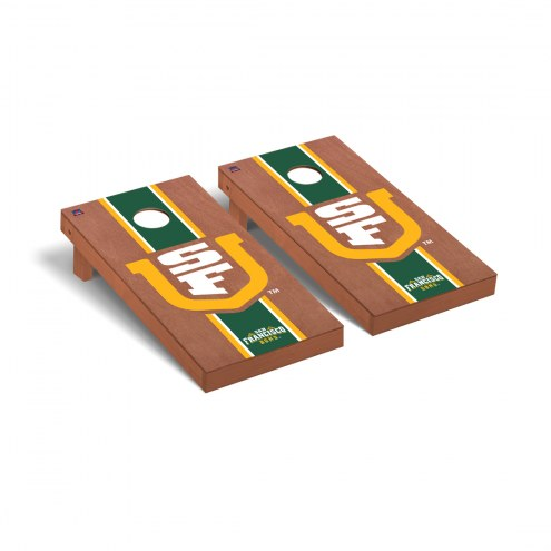 San Francisco Dons Rosewood Stained Cornhole Game Set