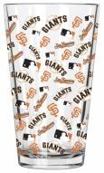 San Francisco Giants 16 oz. All Over Print Pint Glass