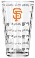 San Francisco Giants 16 oz. Sandblasted Pint Glass