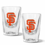 San Francisco Giants 2 oz. Prism Shot Glass Set