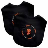 San Francisco Giants 2-Pack Baby Bibs