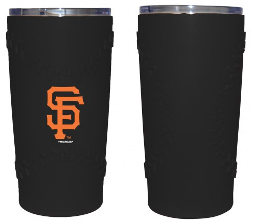 San Francisco Giants 20 oz. Stainless Steel Tumbler with Silicone Wrap