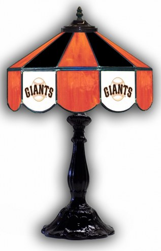 "San Francisco Giants 21"" Glass Table Lamp"