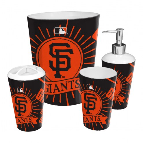 San Francisco Giants 4-Piece Bath Set