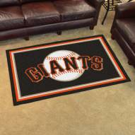San Francisco Giants 4' x 6' Area Rug