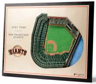 San Francisco Giants 5-Layer StadiumViews 3D Wall Art