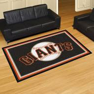 San Francisco Giants 5' x 8' Area Rug