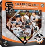 San Francisco Giants 500 Piece Home Plate Shaped Puzzle