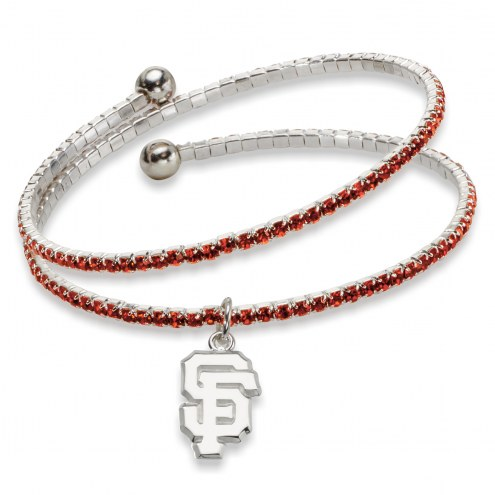 San Francisco Giants Amped Logo Crystal Bracelet