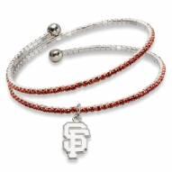 San Francisco Giants Amped Logo Crystal Bracelet